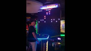 Galaga [World's Largest Pacman Game] - Arcade - 999,990 (1st PERFECT Score!)