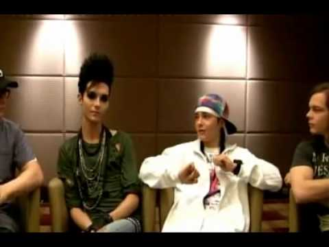 09.06.10 Tokio Hotel answer your Questions Part 8