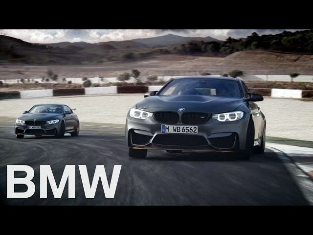 The new BMW M4 GTS. 500 hp sports car. - YouTube