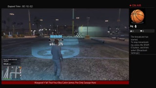 Playing Grand Theft Auto V