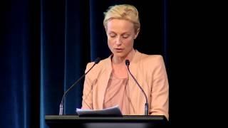 Marta Dusseldorp speaks for World Refugee Day 2015