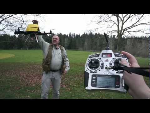 RFTC: DJI NAZA Unboxing. Installation and Testing