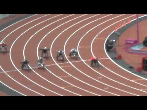 2012 Paralympics 800m Wheelchair Final