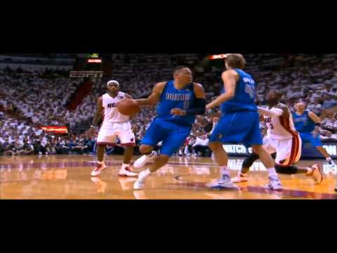 Dwayne Wade Block Shawn Marion vs Dallas Mavericks GAME 1 NBA FINALS 2011