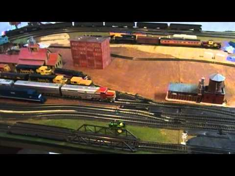 HO/O Scale Layout Update 3