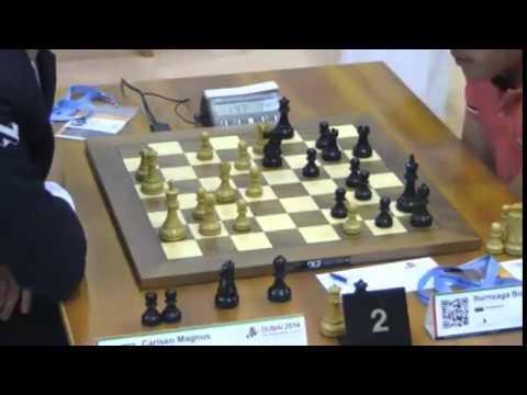 Carlsen vs Iturrizaga - 2014 World Blitz Championship