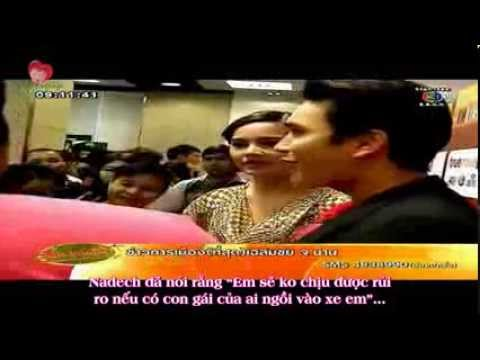 [Vietsub] NadechYaya refuse news eating at Thonglor & TV3 Star Chat – KKBT 29.01.14 [NYVNFanpage]