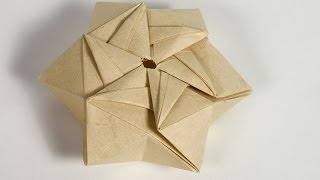 Origami gift box origami box quot cindy quot 9 corners great ideas for