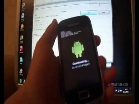 How to unroot / unbrick Samsung Galaxy Mini 2 and flash official stock firmware