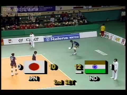 JIMMY GEORGE(10)ABDUL BASITH(5)INDIA- SEOUL ASIAN GAMES 1986
