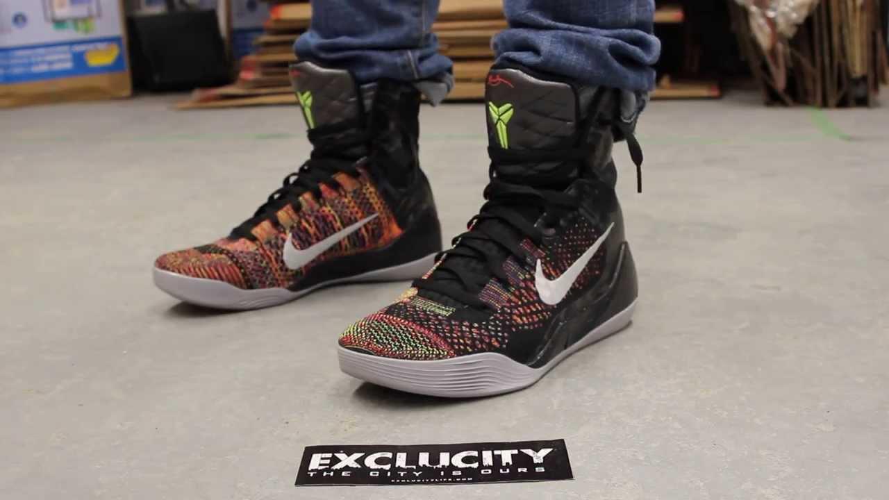 maxresdefault jpgKobe 9 Elite Inspiration On Feet