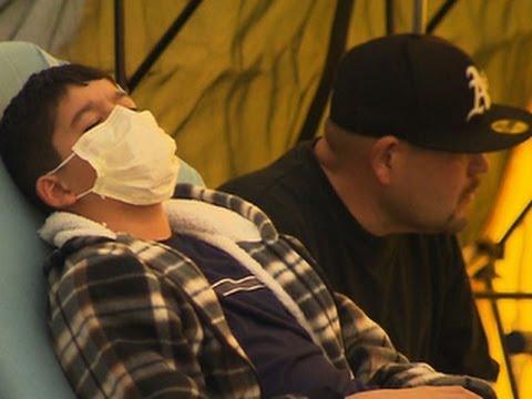 H1N1 flu outbreak sweeping across U.S.
