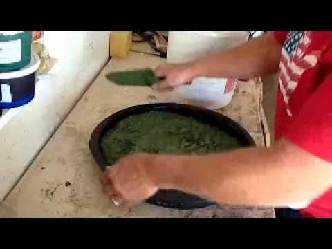 How-to Make Cement Stepping Stones with Premix Bags of Concrete