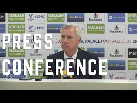 Alan Pardew Post Liverpool Press Conference
