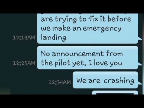 "Mom to family: ""We are crashing"""