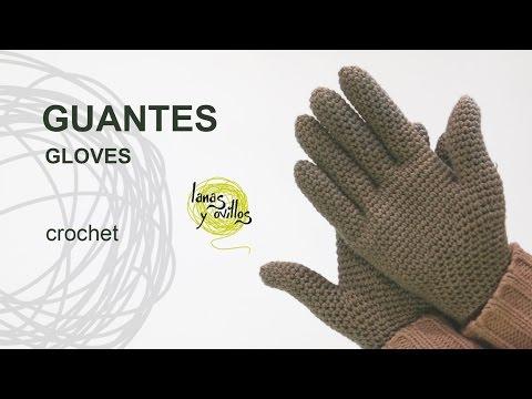 Tutorial Guantes Crochet o Ganchillo
