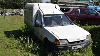 Starting 1992 Ford Fiesta Courier After 6 Years (1080p)