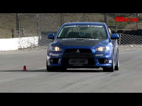 2008 Mitsubishi EVO X by AMS Track Tested