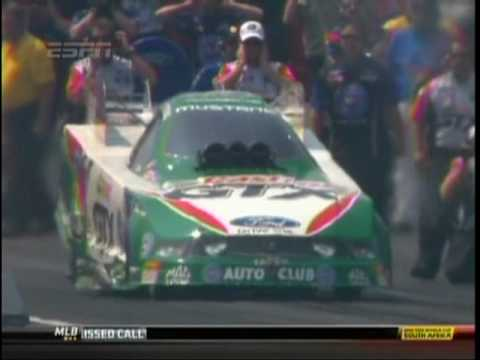 John Force Ashley ForceHood FC Summit Racing Equipment Nationals Norwalk Ohio 2010.mpg Video