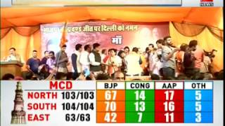 MCD Election Results 2017: BJP wins big, thanks Delhiites for faith in party