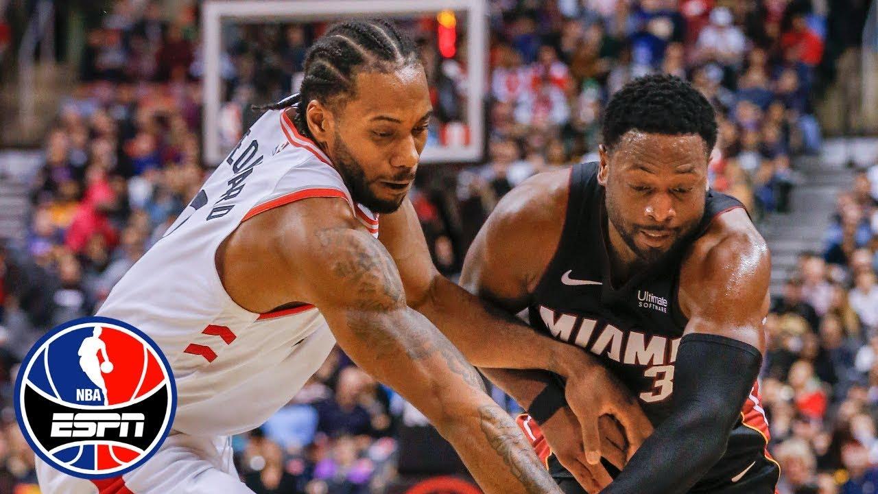Dwyane Wade's 35 points aren't enough, Heat fall to Kawhi Leonard, Raptors   NBA Highlights