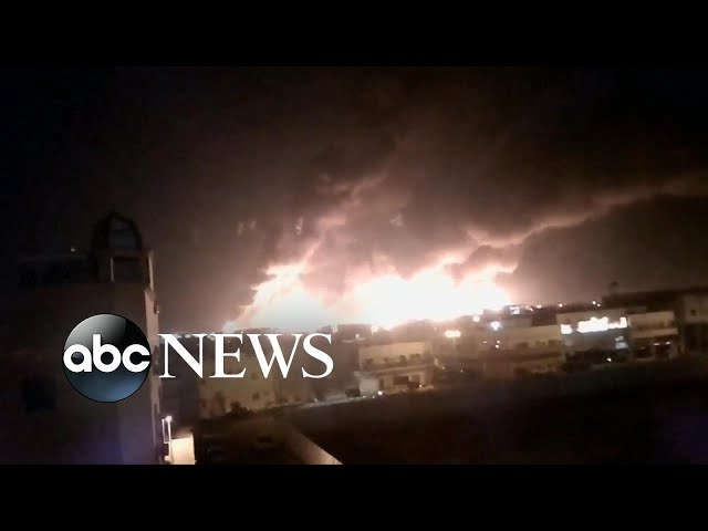 Trump вCertainly lookingв like Iran behind Saudi Arabia attack l ABC News