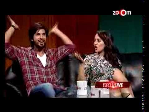 Shahid Kapoor & Sonakshi Sinha talk about Gandi Baat, Dancing with Prabhu Dheva & more