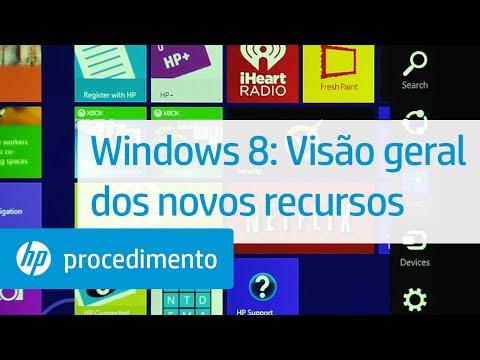 Windows 8: Visão geral dos novos recursos