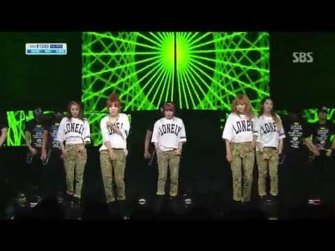포미닛 (4minute) [WHATEVER] @SBS Inkigayo 인기가요 20130428