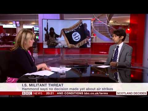 BBC News Channel, Sakhr Al-Makhadhi, 150914, ISIS vs the Arab World