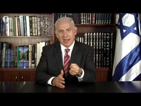 Israeli PM Benjamin Netanyahu Singing Chandelier by Sia