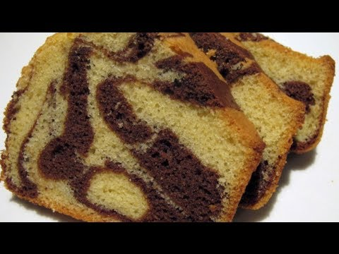 MARBLE CAKE - VIDEO RECIPE