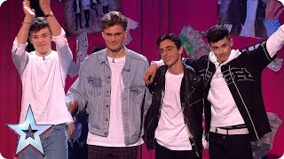 4MG shock Judges with Semi Final surprise | Semi-Finals | BGT 2019