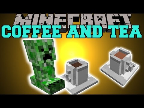 Minecraft: COFFEE AND TEA (BOMBY'S CAFE IS BACK WITH MORE DRINKS!) Mod Showcase