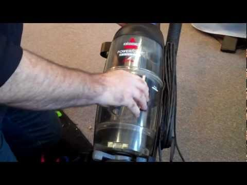 how to change a pump belt on bissell model25a3-c