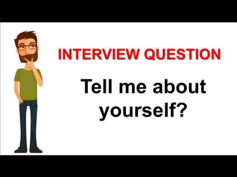 tell about yourself essay interview