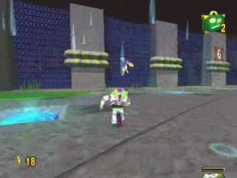 Toy Story 2 Walkthrough Level 14: Tarmac Trouble 1/2