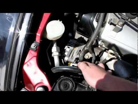 How to Change Alternator Belt Mitsubishi Eclipse 00-05