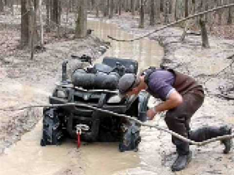 Breaking a New Gorilla Axle at Gator Run in Easton Texas