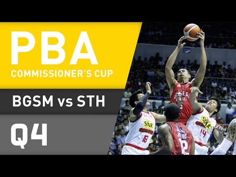 GINEBRA VS. STAR - Q4 | Commissioner's Cup 2016