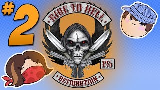Ride to Hell: A Woman?!?? - PART 2 - Steam Train