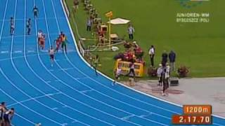 IAAF World Junior Championships 2008 4x400m relay Men Bydgoszcz