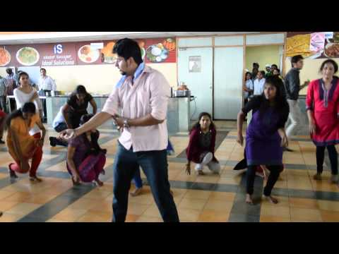 Flash mob at TCS Abhilash bangalore