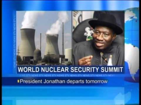President Jonathan Departs for World Nuclear Security Summit.flv