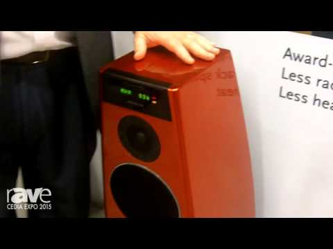 CEDIA 2015: Meridian Audio Displays Its Special Edition DSP5200 DSP Loudspeaker
