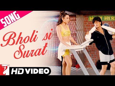 Bholi Si Surat Song | Dil To Pagal Hai | Shah Rukh Khan | Madhuri Dixit | Karisma Kapoor