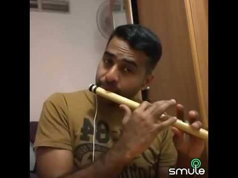 Kannam thumbee poramo on Flute by Naveen