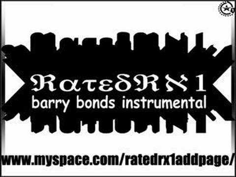 real barry bonds instrumental by kanye west Video