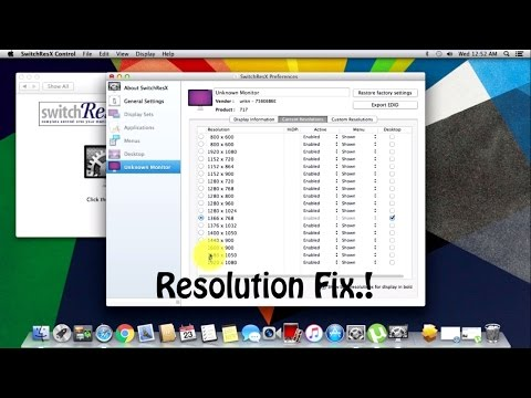 Fix Resolution on VMware Running MAC OS..! - How To?