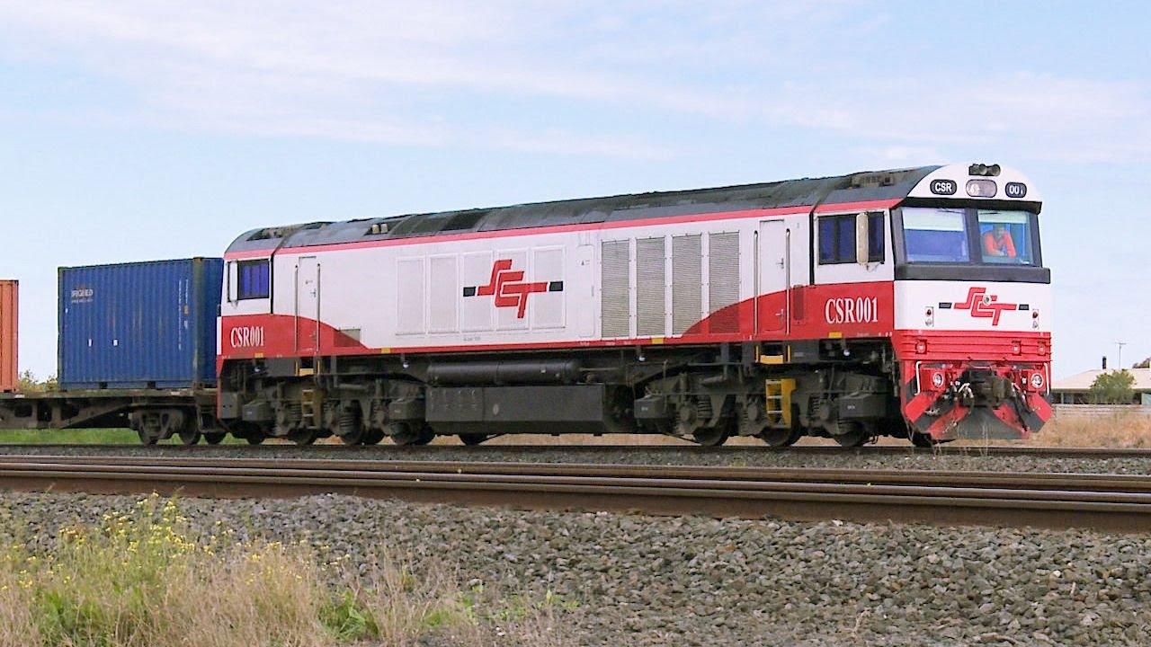 SCT CSR Class Diesel Locomotive With Freight Train in ...